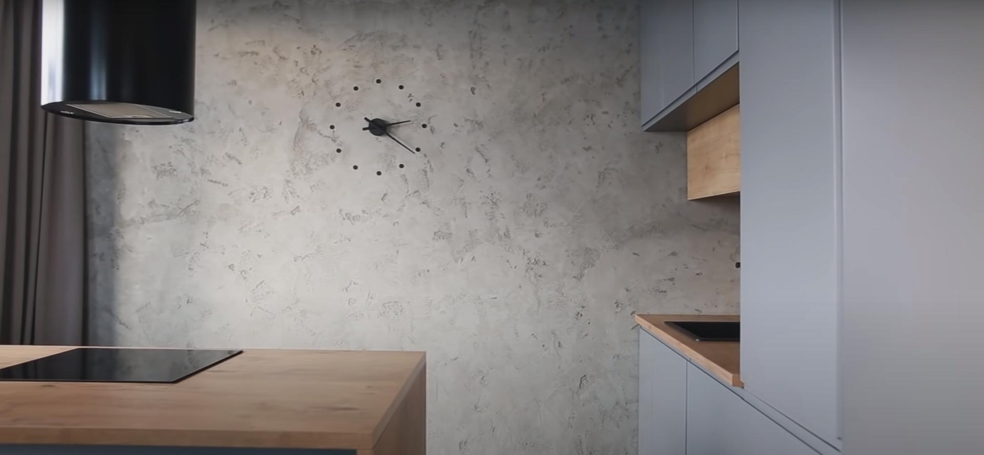 лофт кухня стиль интерьер
