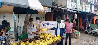 नगर परिषद ने चलाया गन्दगी भारत छोड़ो अभियान