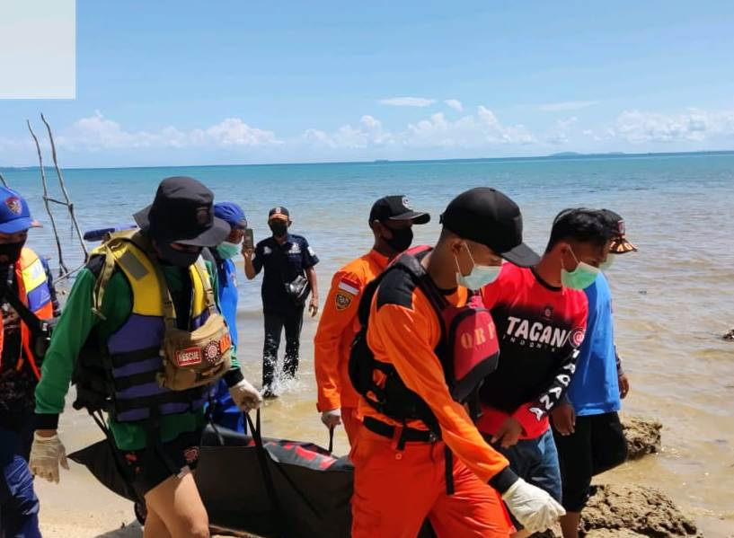 Pencarian H2 Korban Ditemumkan Meninggal, Mancing di Bibir Pantai Terseret Arus
