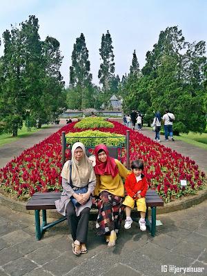 Taman Bunga di Taman Matahari Bogor