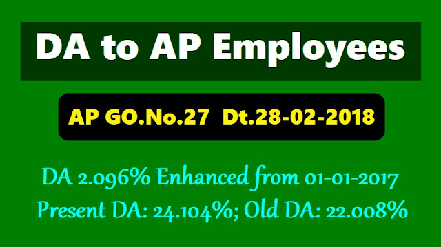 new da to ap employees,go.27,da 2.096% sanctioned,present da:24.1.04%,old da:22.008%,download da go.no.27,da arrears,gpf,cash from,cps