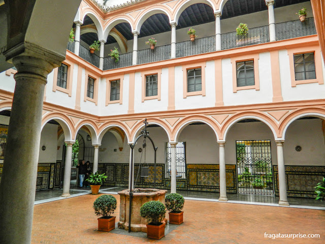 Pátio del Aljibe, Museu de Belas Artes de Sevilha