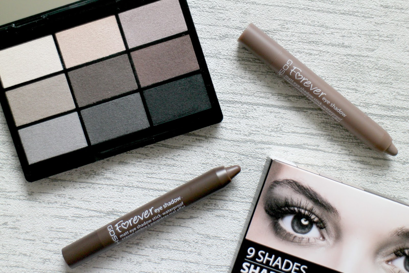 GOSH Eyeshadow Review