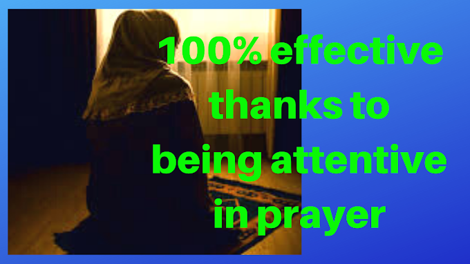 100% effective thanks to being attentive in prayer - Islamic Girls Guide