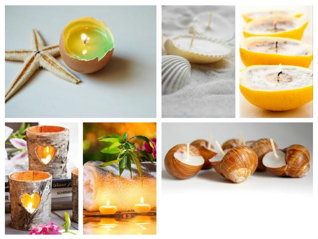 Ιδέες για να φτιάξεις τα δικά σου πρωτότυπα κεριά