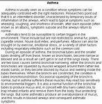 Asthma essay