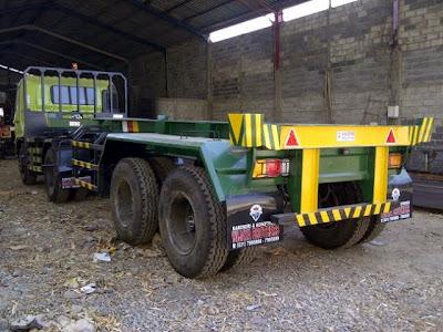 truk trailer 20 feet
