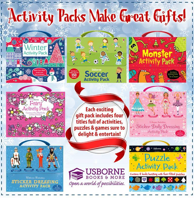 Usborne Books and More Activity Pack