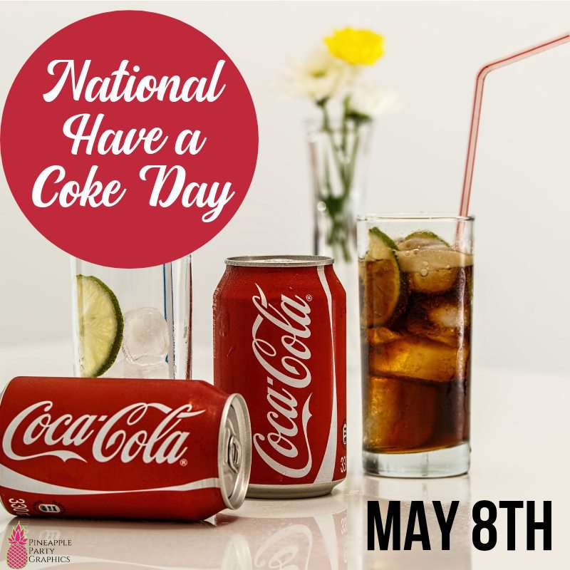 National Have a Coke Day Wishes For Facebook