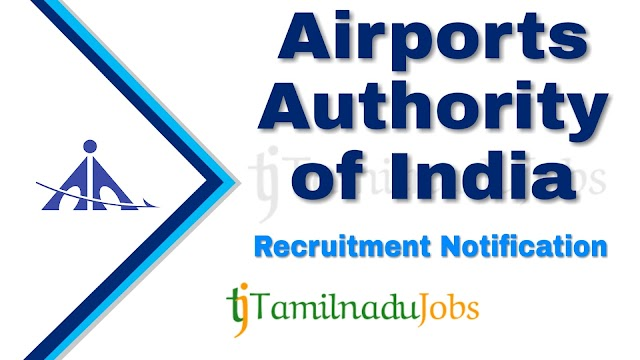 AAI Recruitment notification of 2020 - for Junior Executive - 180 post