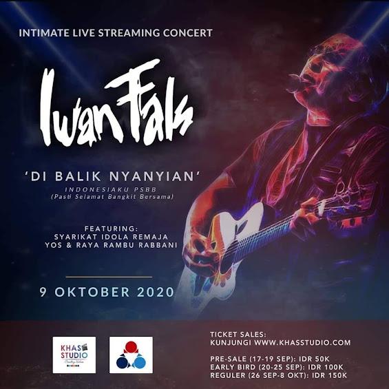 Konser Virtual Iwan Fals 9 Oktober 2020