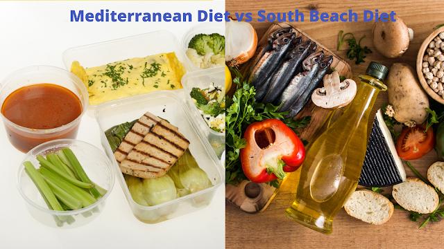 South Beach Diet vs Mediterranean diet