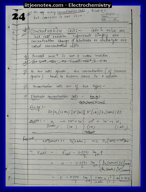 Electrochemistry Notes9