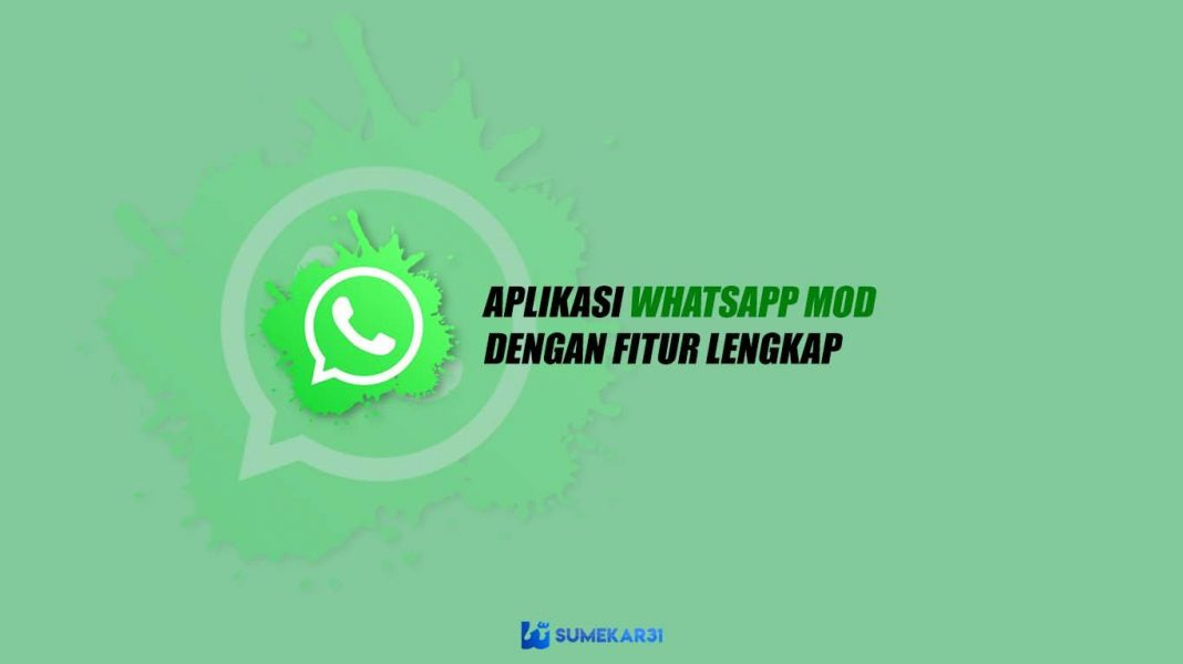Aplikasi WhatsApp MOD APK dengan Fitur Lengkap