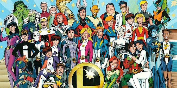 Ideia para uma série da Legião dos Super Heróis - Construindo a equipe
