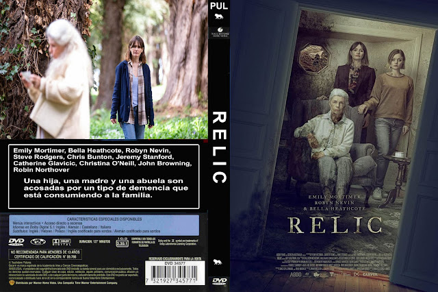 Relic dvd cover