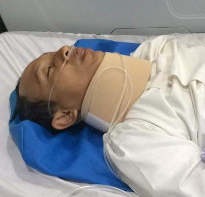 Buya Yaha Mengalami Kecelakaan Tunggal di Tol Cipali