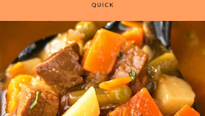 EASY BEEF STEW RECIPE (ONE POT)