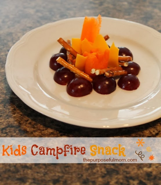 Kid Friendly Foods Campfire Snack