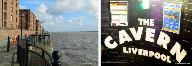 Liverpool: o Rio Mersey e o Cavern Club