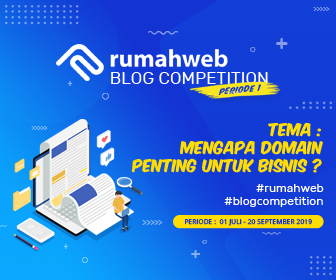rumahweb blog competition
