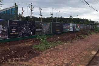 Đất nền tại các dự án đang tăng