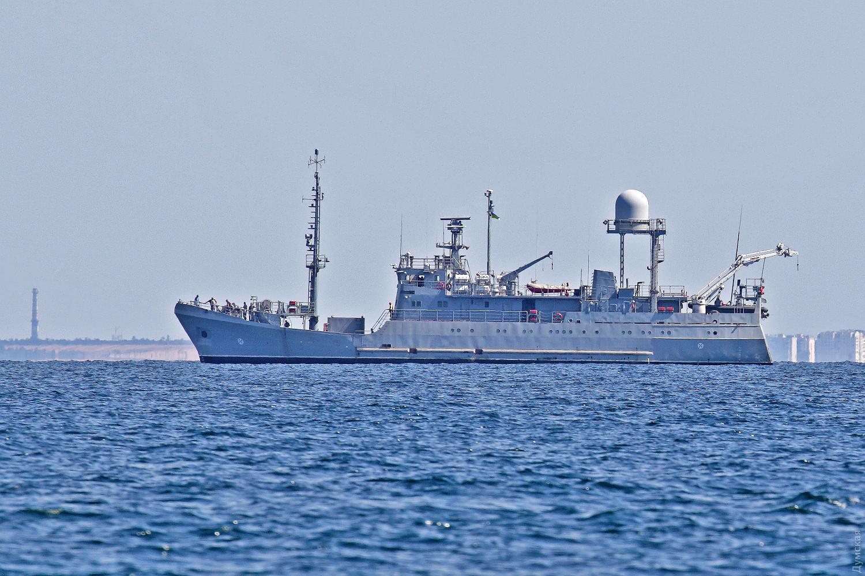 Новий корабель радіотехнічної розвідки ВМСУ вийшов у море
