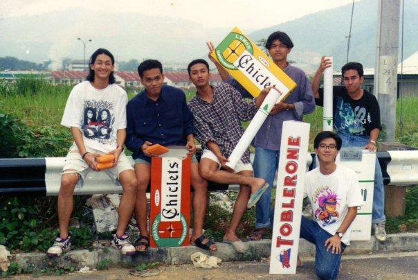 Gambar Sewaktu Zaman Kolej Vernon Chan
