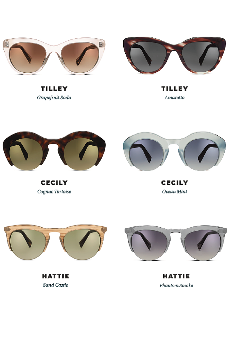 Warby Parker new sunglasses collection2