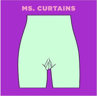 Tipos de vaginas - qual será o seu? Ms. Curtains