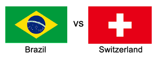 brazil vs switzerland world cup 2018