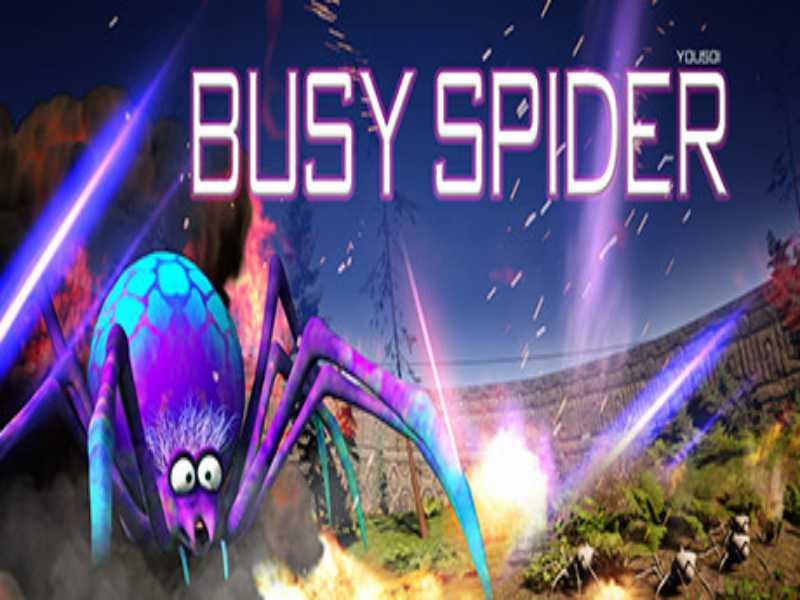 Busy Spider Game Free Download For PC Laptop Setup