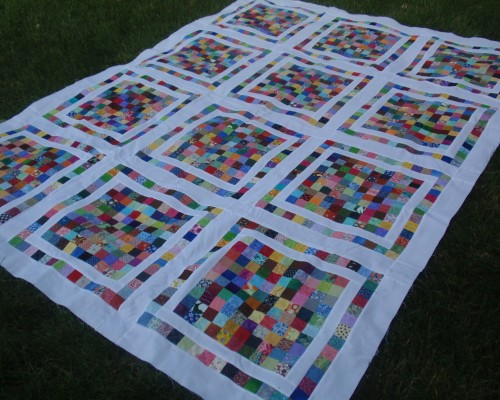 100-Patch Quilt - Tutorial
