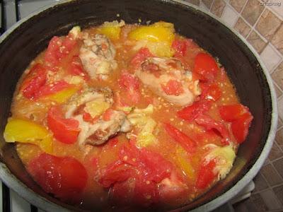 Borș de roșii cu pui: Rețetă fără gluten din 2 ingrediente de Cristina G.