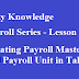 Creating Employee Master & Payroll Unit in Tally.ERP9