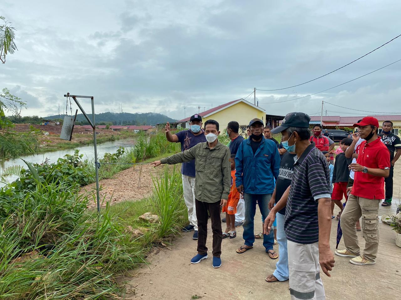 Wakil Walikota Batam Tinjau Lokasi Banjir di Sei Harapan Sekupang