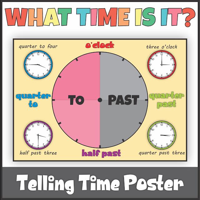 https://www.teacherspayteachers.com/Product/Telling-Time-Poster-4051167