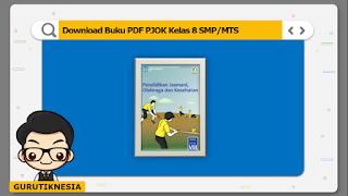 download ebook pdf buku digital pjok kelas 8 smp/mts