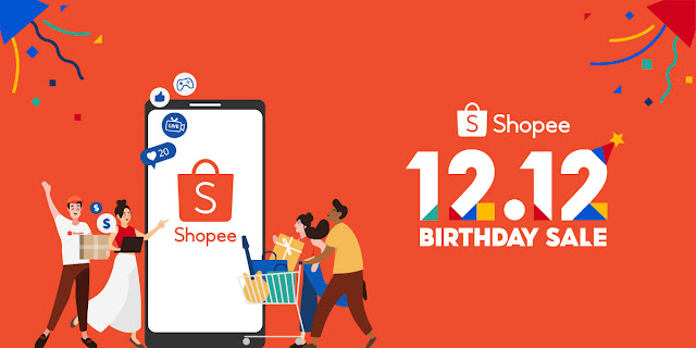 ช้อปปี้ส่งท้ายปีกับแคมเปญ Shopee 12.12 Birthday Sale