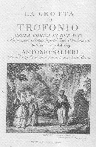 Salieri La Grotta di Trofonio 1785