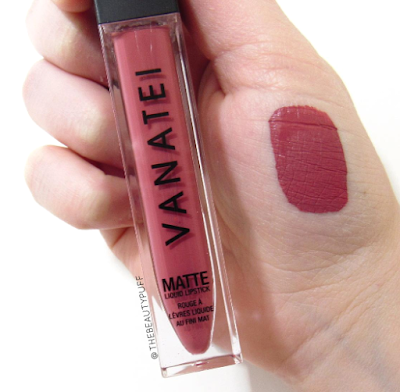 vanatei trap queen swatch - the beauty puff