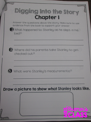 Our class LOVES Flat Stanley! Here are some fun Flat Stanley book study companion activities to go with the books by Jeff Brown. Perfect for whole class guided reading, small groups, or individual study packs. Packed with lots of fun literacy ideas and guided reading activities. Common Core aligned. Grades 1-2 #bookstudies #bookstudy #novelstudy #1stgrade #2ndgrade #literacy #guidedreading #flatstanley