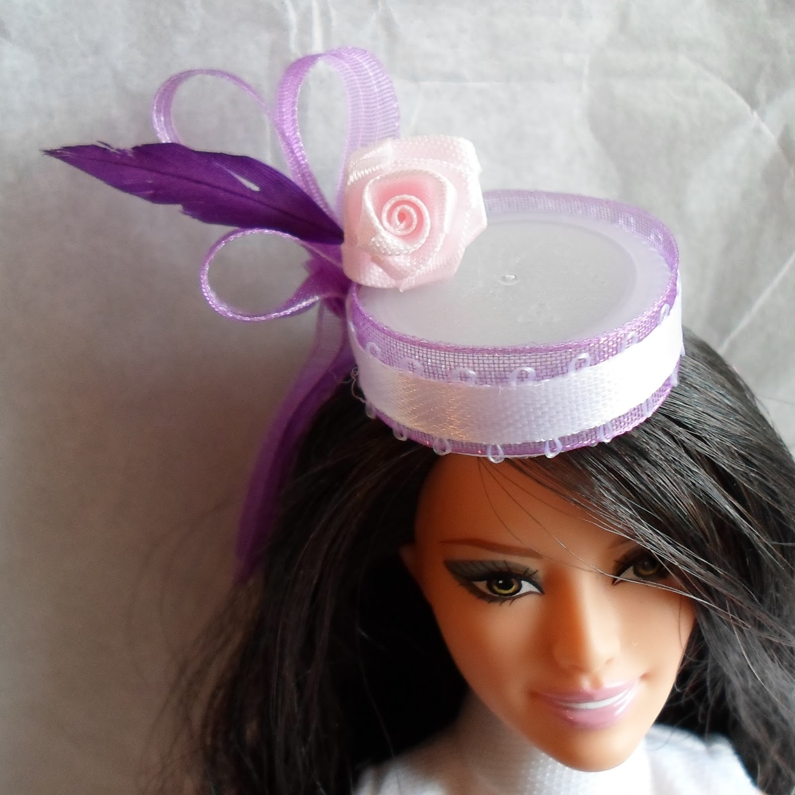 Relatively Happier Than A Pig In Mud: Kate Middleton Inspired Hat for Barbie  VT24