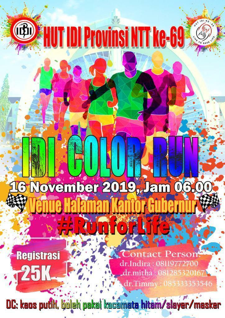 IDI Color Run • 2019