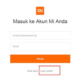 Cara Menghapus Akun Mi Lupa Sandi dan Email