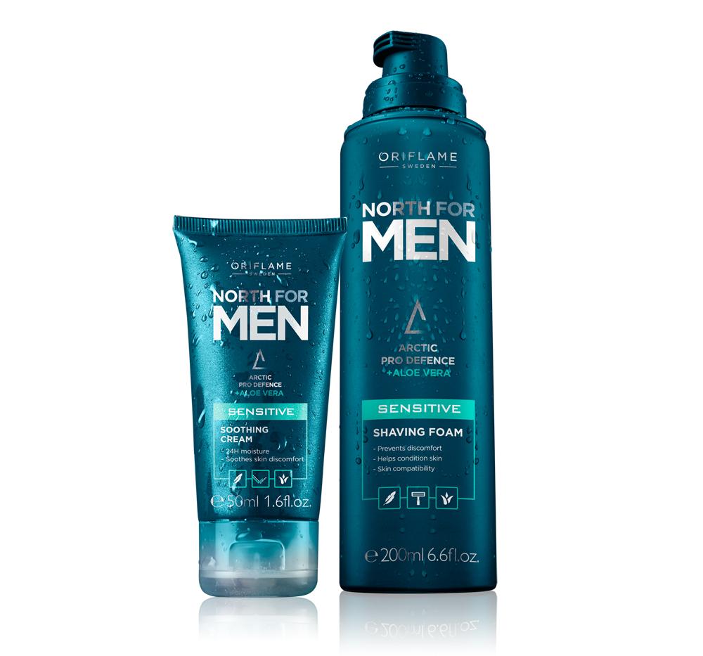 North For Men para pele sensível