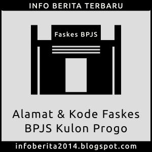 Alamat dan Kode Faskes BPJS Kulon Progo