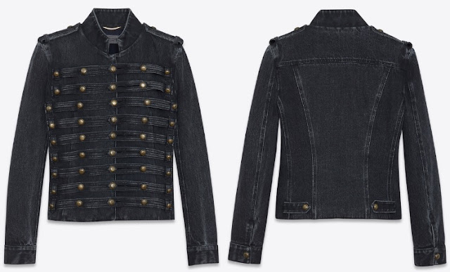 Denim Jacket Officer Tabs