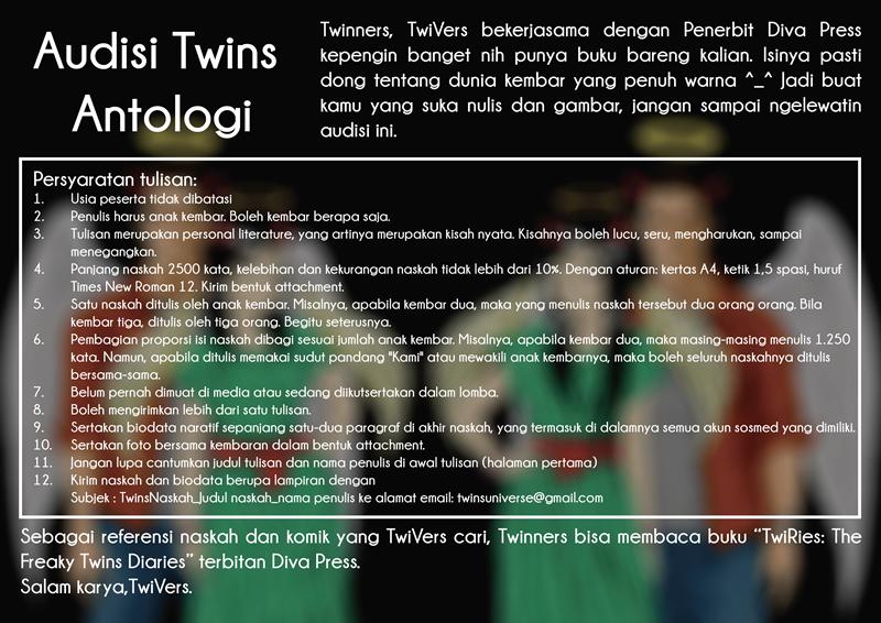 Audisi Twins Antologi