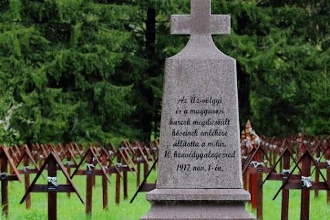 Cimitirul militar din Valea Uzului - Graniţă de judeţ disputată, istoria pusă la îndoială